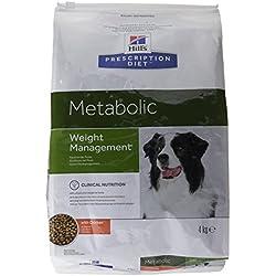 HILL'S Presciption Diet Canine Metabolic - Nourriture pour Chien - Perte de Poids - 4 kg