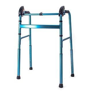 Zfggd Elderly Walking Walker Automatic Telescopic Disabled Walking Frame Climbing Walking Aid