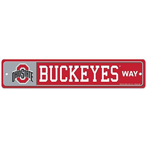Wincraft NCAA Ohio State University 89213014Street/Zone Zeichen, 11,4x 43,2cm -