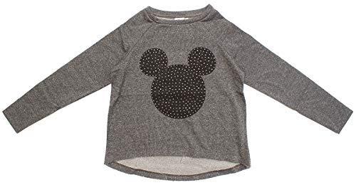 Disney de Niña Mickey Minnie Mouse con Purpurina Vestido Sudor Top Talla de 9 a 14 Años