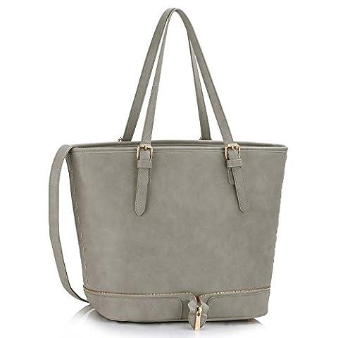 Ladies Large Shoulder Bags Womens Designer Handbags Leather Celebrity Style Shopper New Tote