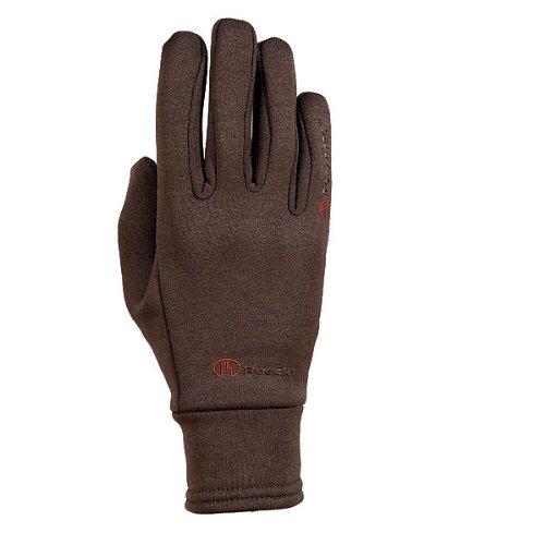 Roeckl Sports Winter Handschuh -Warwick- Unisex Reithandschuh, Mokka, 7