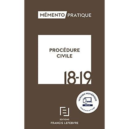 MEMENTO PROCEDURE CIVILE 2018-2019