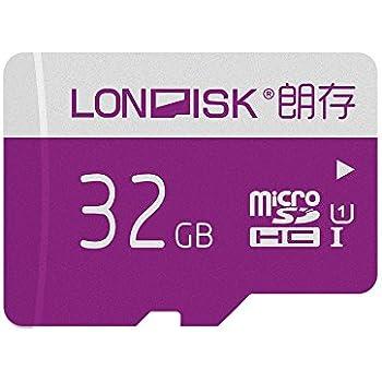 LONDISK Tarjeta Micro sd 32 GB Tarjeta de Memoria U1 Clase 10 con Adaptador MicroSD 10 años Después de la venta