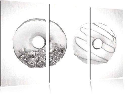 lustrate-donuts-effetto-disegno-a-carboncino-3-pezzi-picture-tela-120x80-immagine-sulla-tela-xxl-eno