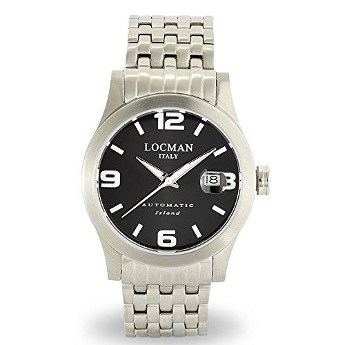 Men's Automatic Watch Island Ref. 6150615V0100bkwbr0–Locman