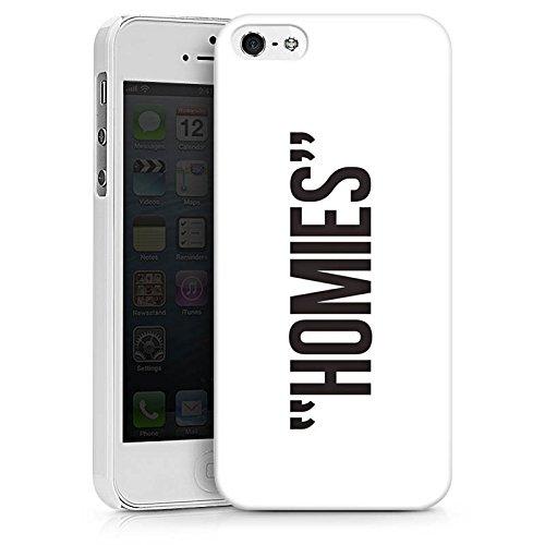 Apple iPhone X Silikon Hülle Case Schutzhülle Freunde Freundschaft Sprüche Hard Case weiß