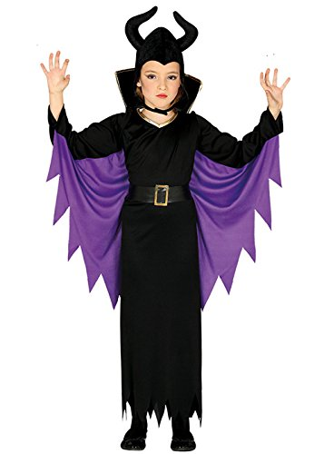 Königin Kostüm Böse Kinder - Childrens Maleficent Stil Böse Königin Kostüm Small 3-4 Years