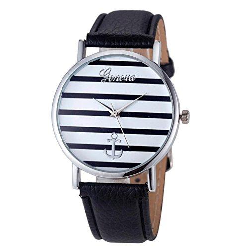 fulltimercuir-geneve-raye-anchor-analogique-des-femmes-montres-a-quartz-argent-noir