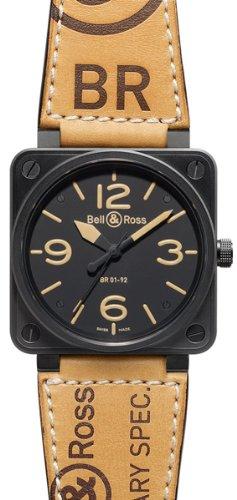 New Bell & ROSS patrimonio automatico XL orologio BR 01–92Heritage