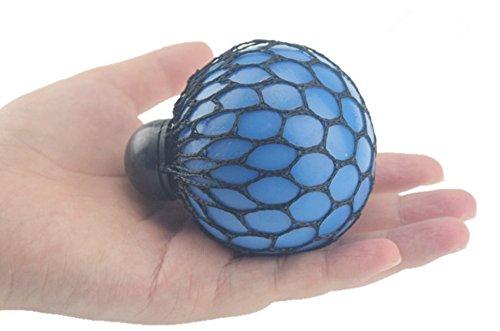 COFCO Boule de raisin pamplemousse main autour du corps tonique jouets de décompression de boule de poils drôle pôle d'eau créative