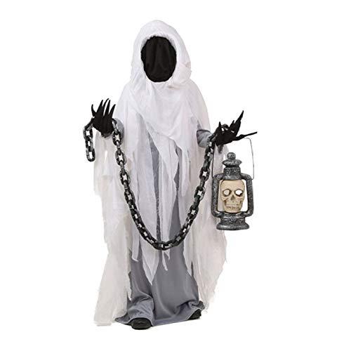 Funny Ghost Kostüm - QIANG Halloween Adult Festival Karneval Stage Performance Dämon Dämon Funny Horror Ghost Ghost Kostüm Ghost Kleidung