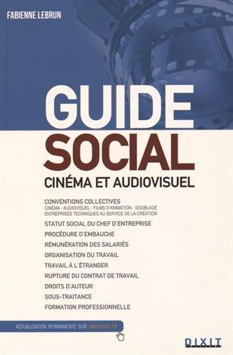 Guide social cinéma et audiovisuel