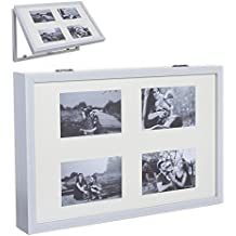 Dcasa - Tapa de contador multiple foto 48x32 blanco