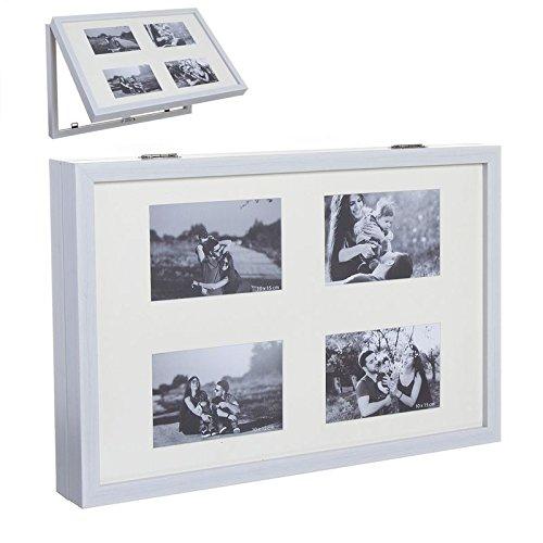 Dcasa - Tapa contador multiple foto 48x32 blanco