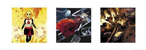1art1 41152 Heroes - Cheerleader Kunstdruck 95 x 33 cm