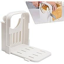 Cocina Pan tostado cortador, grosor de corte ajustable molde herramienta de corte cortador de pan