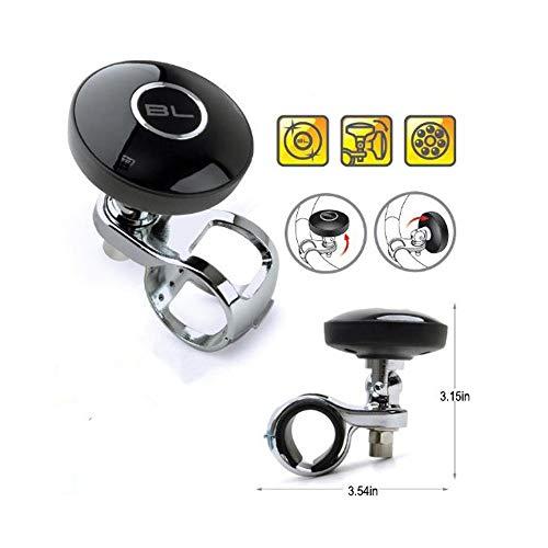 Auto Lenkrad Ball Macht Griff Auto-Lenkrad Suicide Spinner Steering Wheel Knob Black Spinner Knob