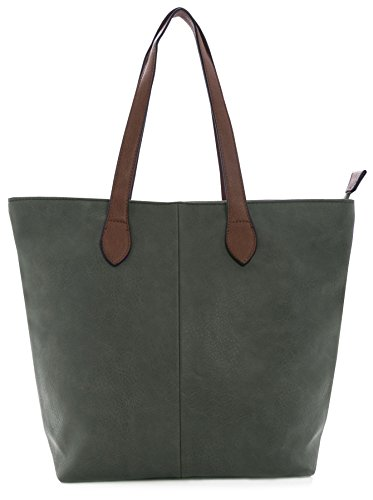 Big Handbag Shop - Sacchetto donna Dark Grey