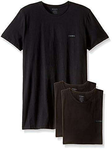 Diesel Herren UMTEE-JAKE 3er Pack T-Shirt