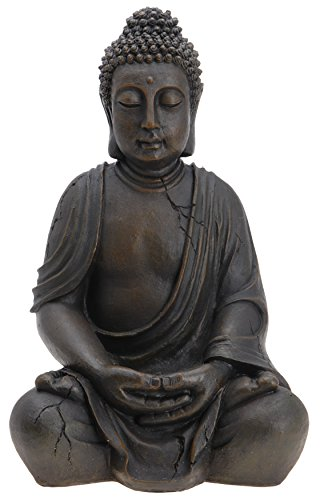 Buda Budda Figura Escultura Estatua 50 cm Terraza En El Jardín