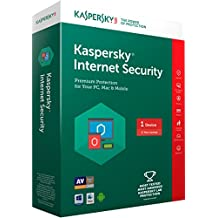 Kaspersky Internet Security Latest Version- 1 PC, 1 Year (CD)