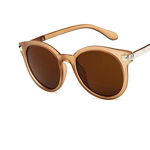 LAMAMAG Sonnenbrille Cat Eye Sonnenbrille Frauen Retro Reflektierende Frauen Sonnenbrillen Damen Brillen Oculos De Sol Feminino Lünette Soleil, 4