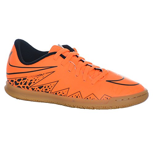 Nike Jr Hypervenom Phade Ii Ic, Total Orange / ttl Orng-black-black, Youth Taille 4.5 - Orange