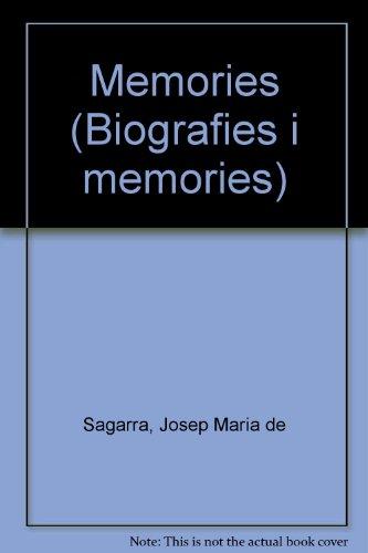 Memòries por Josep Maria De Sagarra i Castellarnau