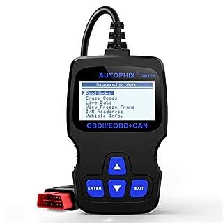 Lucky-all star Kfz-Scanner-Autodiagnosewerkzeug, ODB2 Auto Scaner Read Motorfehler-Fehlercode-Lesegerät ELM327 Autophix OM123 OBD2