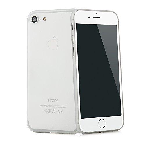 """iPhone 8 / iPhone 7 (4,7"""") Ultra Slim Case - Schutzhülle - """"Gracili"""" in Schwarz - Ultra dünne iPhone Hülle mit Kameraschutz- Leicht transparentes Case mit Rundumschutz - Extrem dünnes Etui als premium Weiß"""