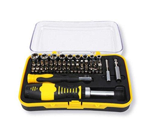 MTTLS Schraubendreher-Sätze 65 in 1 Mehrzweck-Magnet-Precision Repair Tool Kit Handys, Computer, Haushaltsgeräte-Reparatur (Reparatur Haushaltsgeräte)