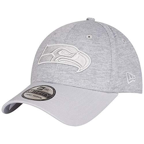 New Era Essential Jersey 39Thirty Cap Seattle Seahawks Hellgrau, Size:M/L