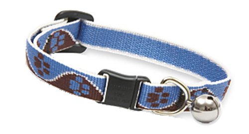 Artikelbild: Lupine 1/5,1cm Classic Designer Collection verstellbar Cat Sicherheit Halsband, 20,3–30,5cm