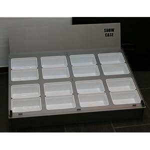 M&S Showcase Präsentation / Display für 8 Kunststoffboxen