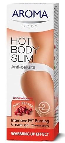 Hot Body Slim Crème-gel thermo-active anti-cellulite intensive aux extraits de Pink Pepperslim, de caféine et de lierre 200 ml