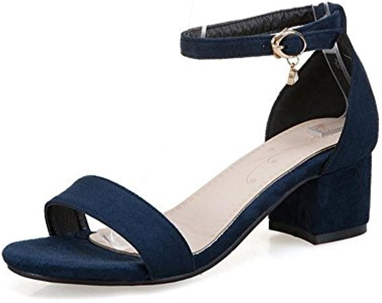 BAJIAN-LI Alta heelsdonna sandali estivi di Peep Peep Peep toe scarpe basse Ladies Flip Flop sandali scarpe | Trendy  788365