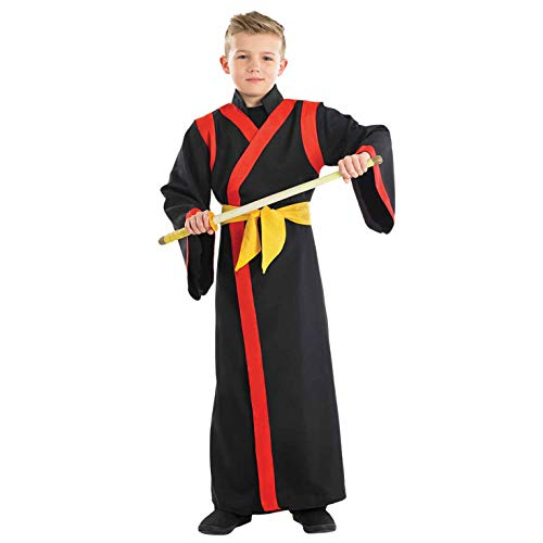 Fun Shack FNK4018L Kostüm, Boys, Samurai, - Ninja Boy Child Kostüm