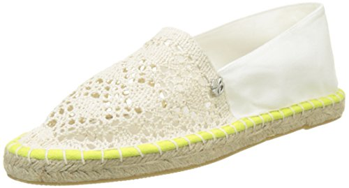 Banana Moon Rochi, Espadrilles Femme Blanc (Blanc)