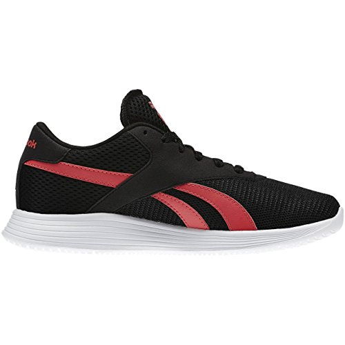 Reebok Royal Ec Ride, Chaussures de Sport Femme Negro / Rosa / Blanco (Black/Fearless Pink/White)