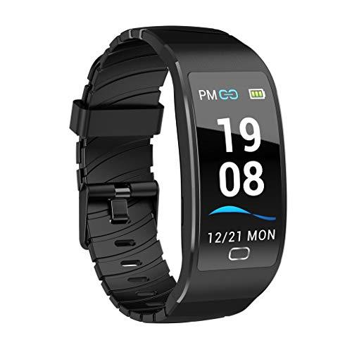 Knowin Bluetooth Smartwatch Fitness Uhr Intelligente Armbanduhr Fitness Tracker Smart Watch Sport Uhr mit Kamera Schrittzähler Schlaftracker Romte Capture Kompatibel mit Android ISO Smartphone - Hybrid-ip-systeme