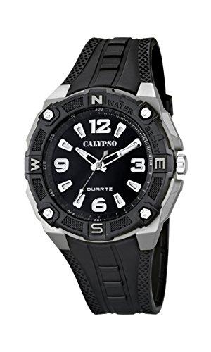 Calypso K5634 – Reloj de cuarzo , correa de caucho color negro