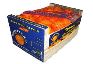 Preisvergleich Produktbild Maroc Orangen,  Original-Holzkiste 15kg