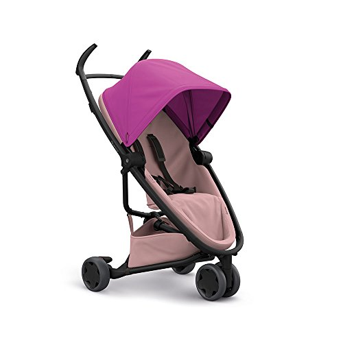Quinny Zapp Flex Stylischer Komfort-Buggy, mit vielen Extras, leicht, kompakt faltbar, ab der Geburt nutzbar, pink on blush