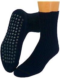 Herren Antirutsch Socken Stoppersocken mit Wolle
