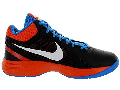 NIKE 637382 The Overplay VIII Chaussures de basketball mixte Noir