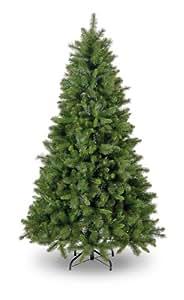 Snowtime CT05074 Künstlicher Weihnachtsbaum Manitoba Spruce Aufklappbar Slim Tree 210 cm