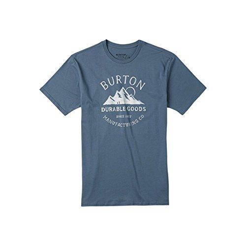 burton-t-shirt-overlook-slim-xl-bleu