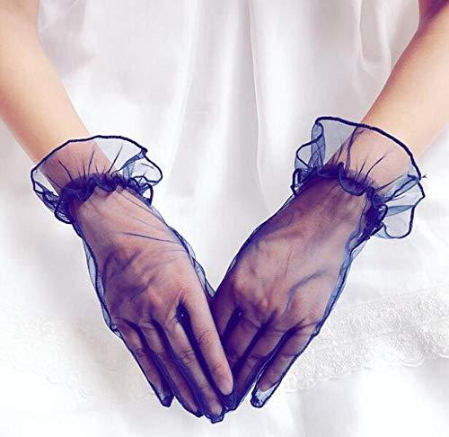 Elegante Halloween Kostüm Weiblich - GBSTA White Gloves Damen Elegante weiße