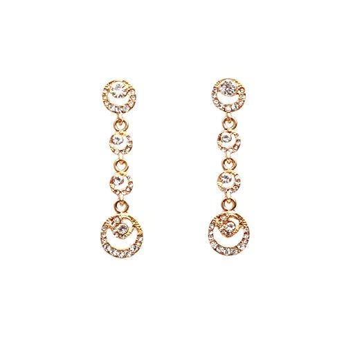 Diamante Modeschmuck - Emorias 1 Paar Ohrringe, Bohrung Flash